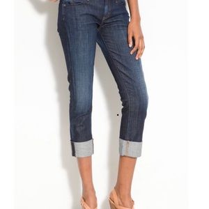 Citizens of Humanity, Dani cropped & cuffed jeans